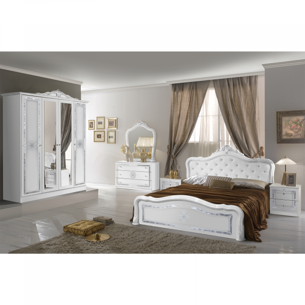 Set Complet Dormitor de lux Luisa - Dulap 4 usi - ExpoMob [0]
