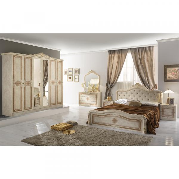 Set Complet Dormitor de lux - Dulap cu 6 usi - ExpoMob 0
