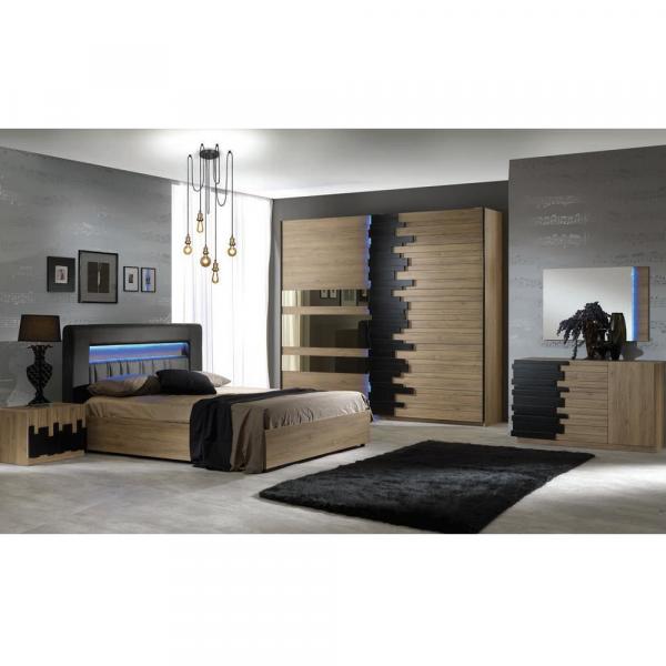 Set Complet Dormitor Mozart - Dulap cu 2 usi - ExpoMob 0