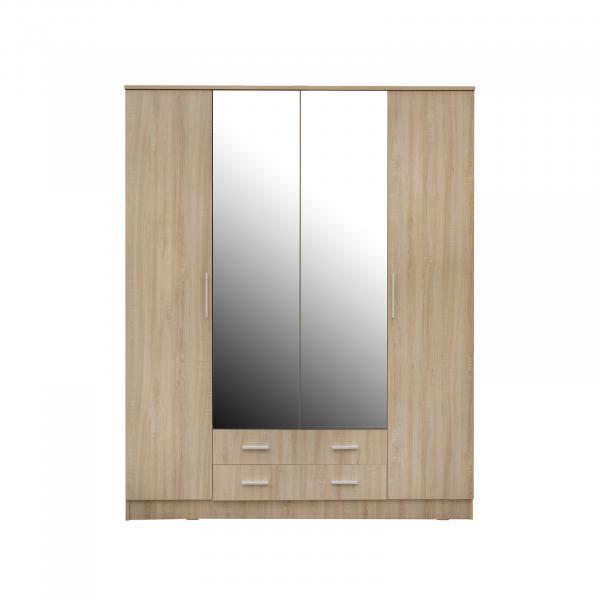 Dulap OFELIA 4 usi cu oglinda 0