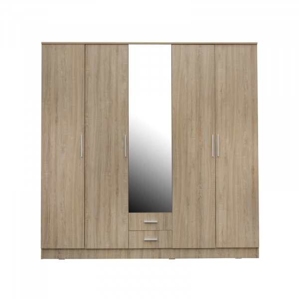 Dulap OFELIA 5 usi cu oglinda 0