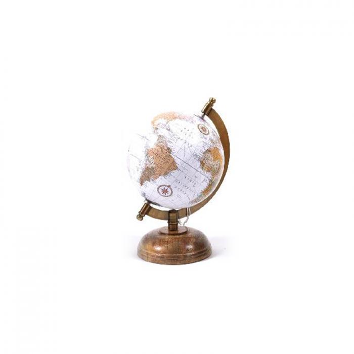 Glob pamantesc din lemn cm 14x13 cm, inaltime 21 cm - ExpoMob [0]