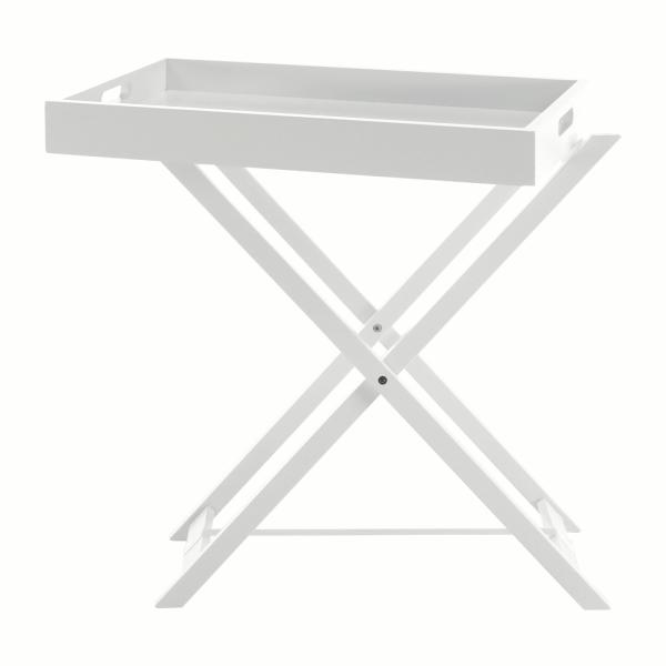 Masă de servire PATROL, alb - Expomob 12