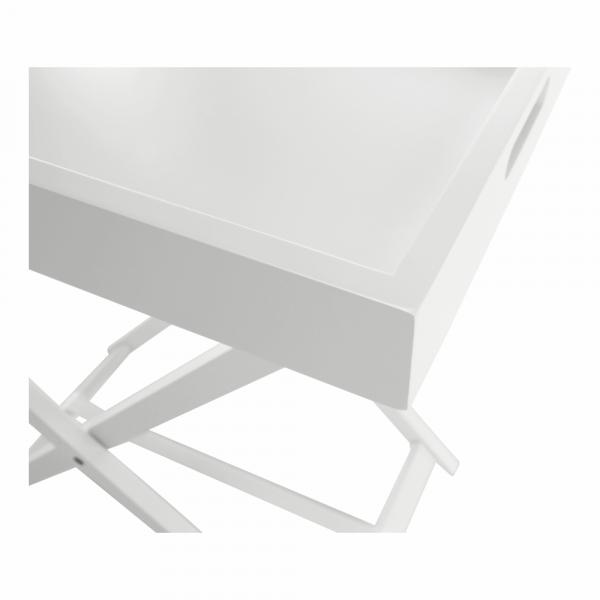 Masă de servire PATROL, alb - Expomob 1