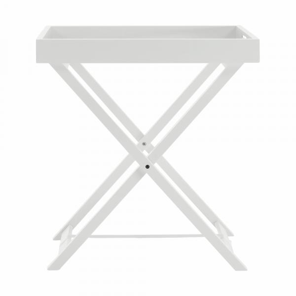 Masă de servire PATROL, alb - Expomob 9