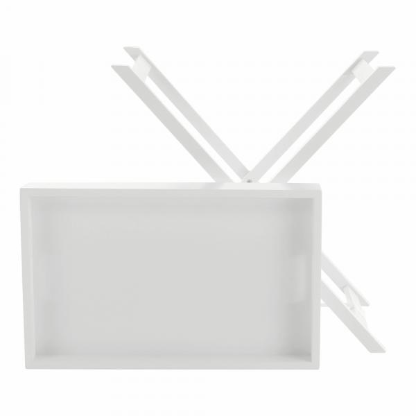 Masă de servire PATROL, alb - Expomob 13