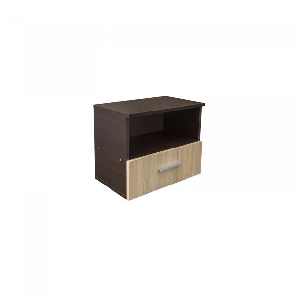 Noptiera Alma cu un sertar pentru dormitor- ExpoMob 1