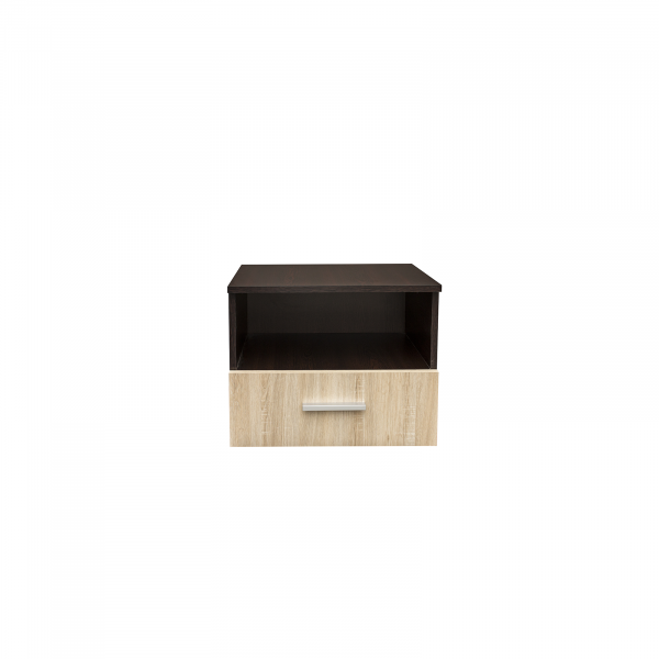 Noptiera Alma cu un sertar pentru dormitor- ExpoMob 0