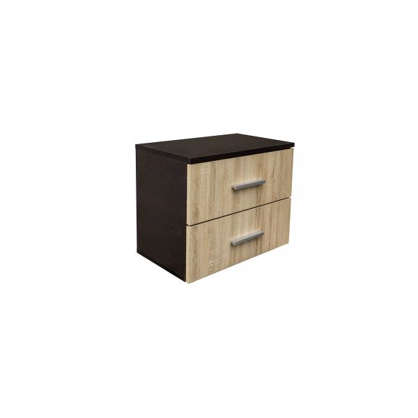 Noptiera Alma cu 2 sertare pentru dormitor- ExpoMob 1