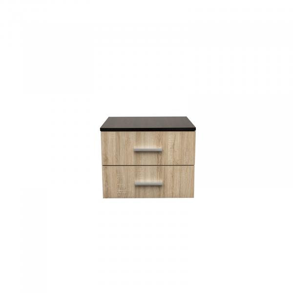 Noptiera Alma cu 2 sertare pentru dormitor- ExpoMob 0