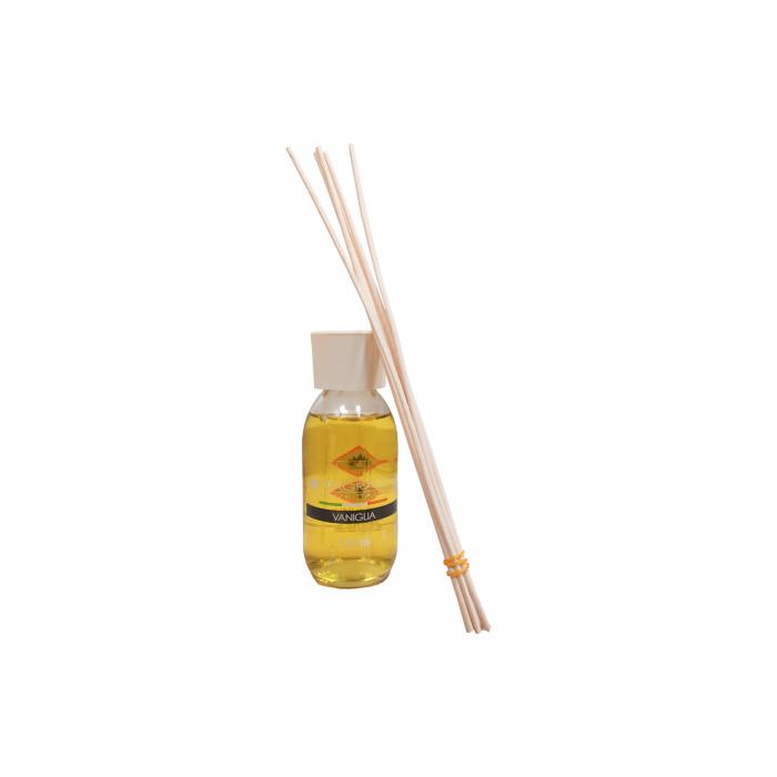 Odorizant de camera cu betisoare, aroma Vaniglia, 125ml - ExpoMob [1]