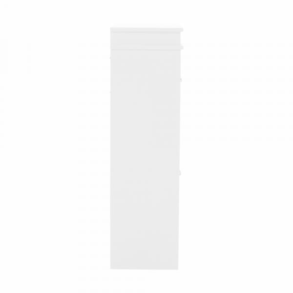 Pantofar SEBER TYP 1, 2 compartimente, alb - Expomob [7]