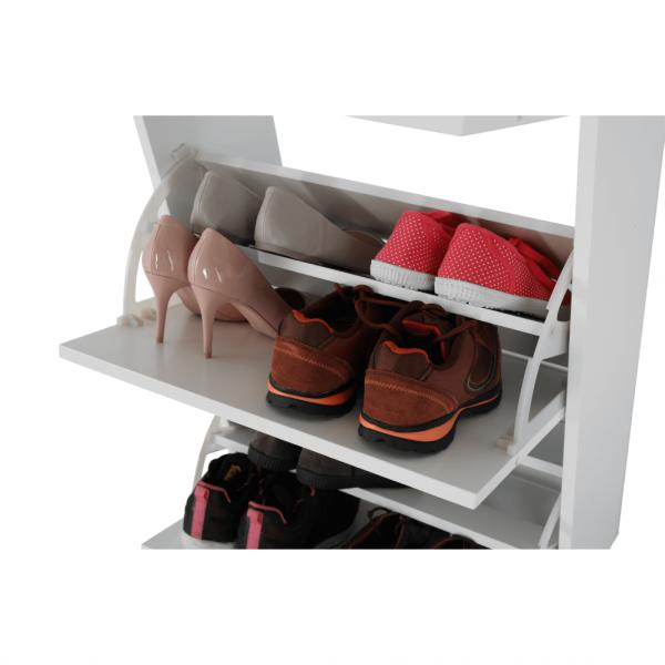 Pantofar SEBER TYP 2, 3 compartimente, alb - Expomob 20