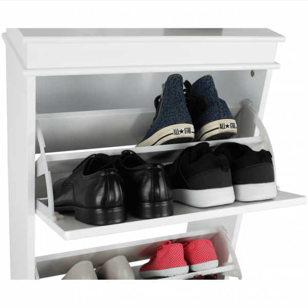 Pantofar SEBER TYP 2, 3 compartimente, alb - Expomob 22