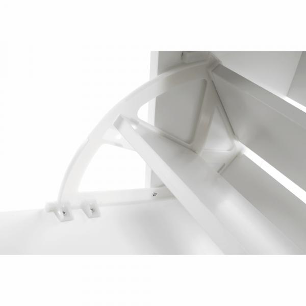 Pantofar SEBER TYP 2, 3 compartimente, alb - Expomob 15