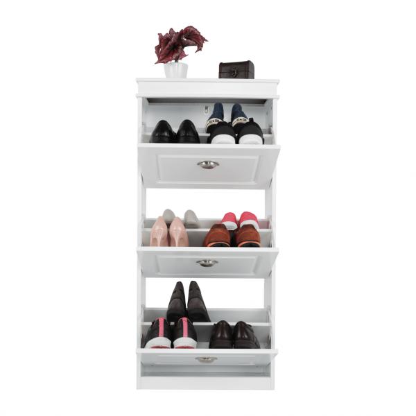 Pantofar SEBER TYP 2, 3 compartimente, alb - Expomob 23