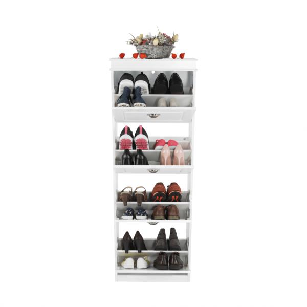 Pantofar SEBER TYP 3, 4 compartimente, alb - Expomob 9