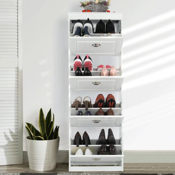 Pantofar SEBER TYP 3, 4 compartimente, alb - Expomob 30