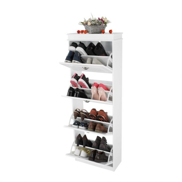 Pantofar SEBER TYP 3, 4 compartimente, alb - Expomob 10