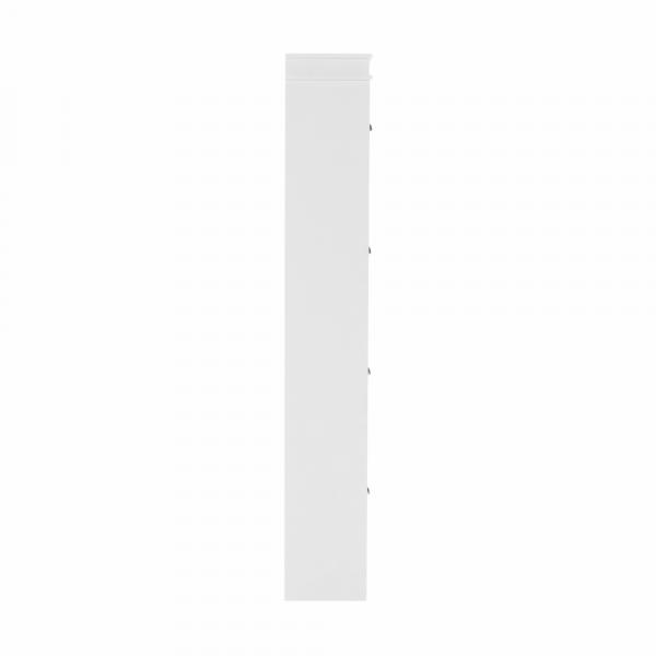 Pantofar SEBER TYP 3, 4 compartimente, alb - Expomob 5