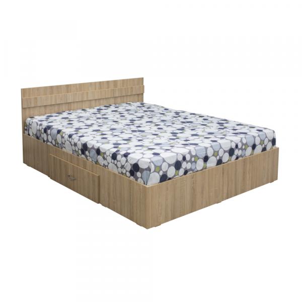 Pat Alma 120x200 cu sertar pentru dormitor - ExpoMob 0