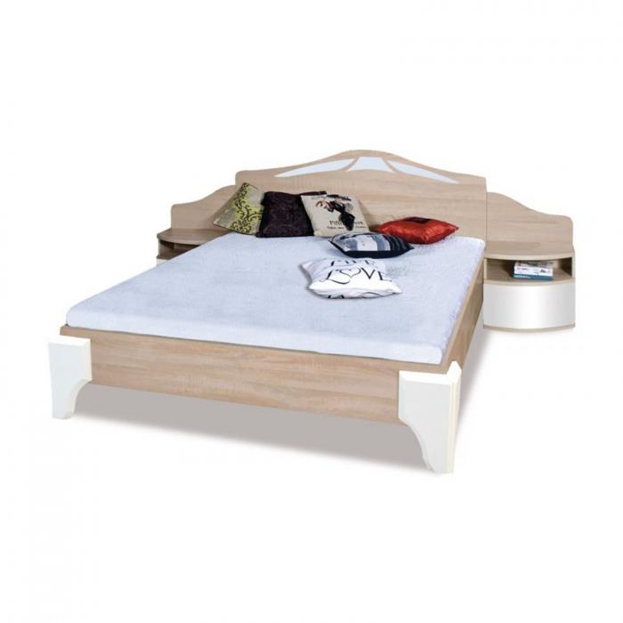 Pat DL 2-4 160x200 pentru dormitor - ExpoMob 0