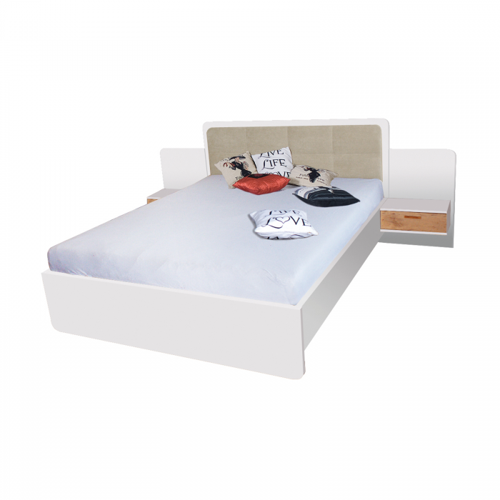 Pat EF1L 160x200 pentru dormitor - ExpoMob [0]