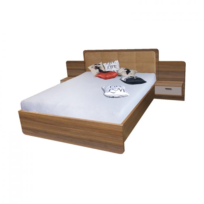 Pat EF3L 160x200 pentru dormitor - ExpoMob [0]