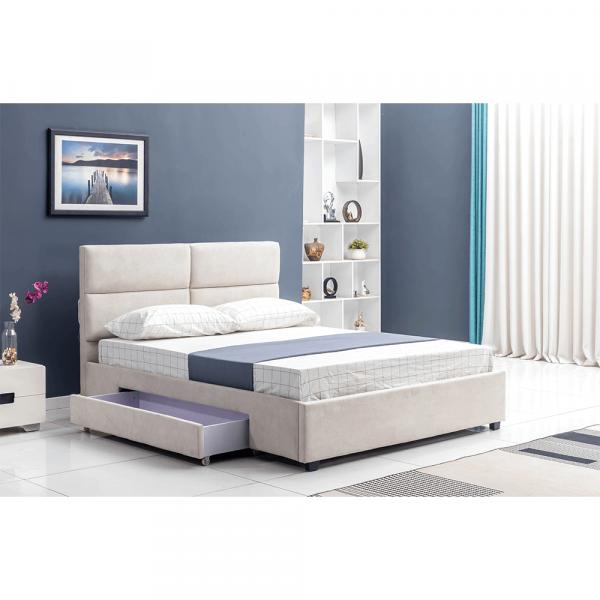 Pat Suzi gri-maro 160x200 pentru dormitor - ExpoMob [2]