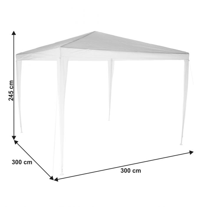Pavilion grădină/foişor, alb, 3x3 m, GOTAN - Expomob 8