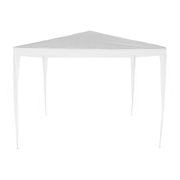 Pavilion grădină/foişor, alb, 3x3 m, GOTAN - Expomob 2