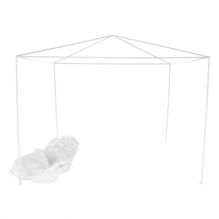 Pavilion grădină/foişor, alb, 3x3 m, GOTAN - Expomob 7
