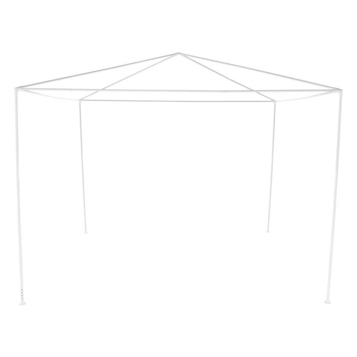 Pavilion grădină/foişor, alb, 3x3 m, GOTAN - Expomob 6