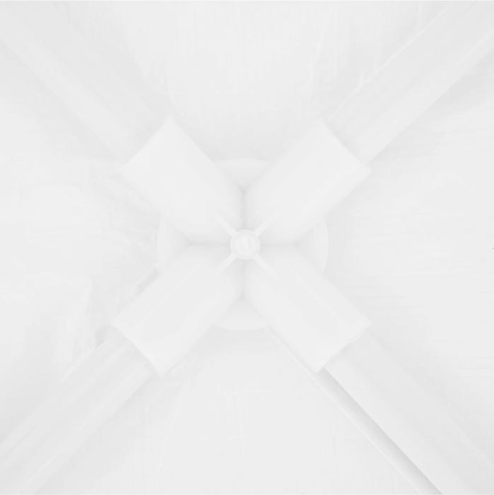 Pavilion grădină/foişor, alb, 3x3 m, GOTAN - Expomob 17