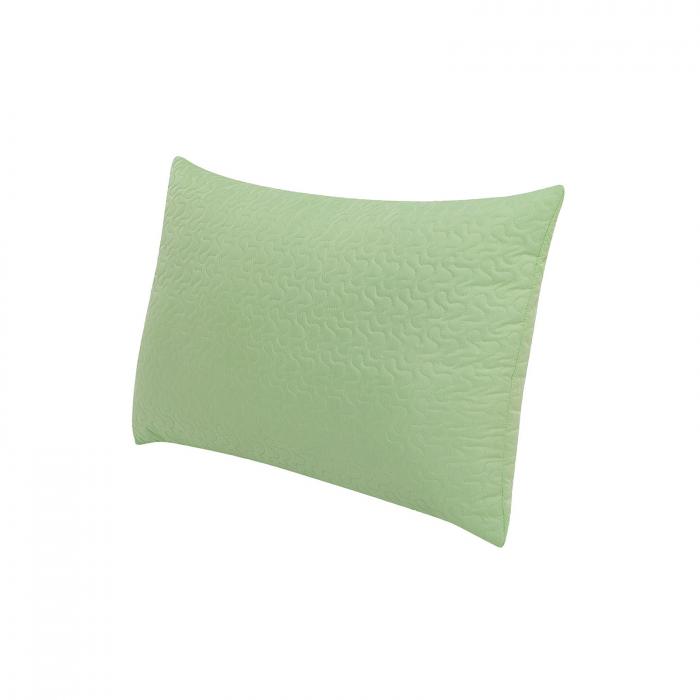 Perna 50x70 Microfibra Verde - ExpoMob 1