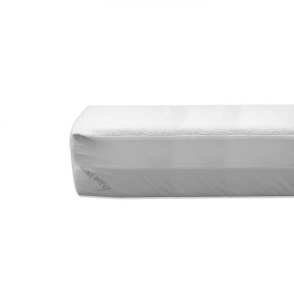 Protectie saltea impermeabila 160x200 cm - 100% Bumbac - ExpoMob 0