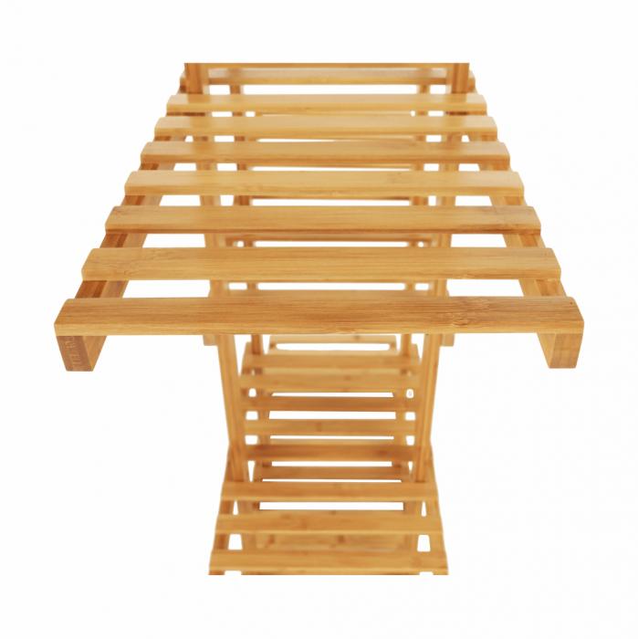Raft, bambus lăcuit, TUSUM - Expomob 9