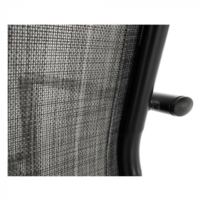 Scaun de grădină, gri/negru, TELMA - Expomob 14