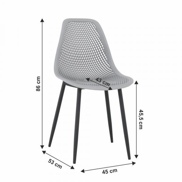 Scaun dining Tegra - Design Modern - ExpoMob 1