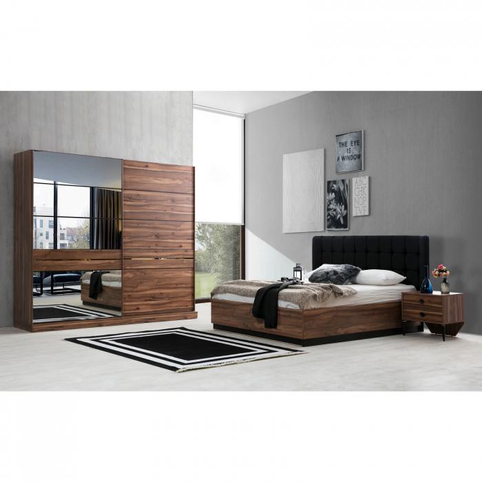 Dormitor EYMIR cu somieră și spațiu depozitare [1]