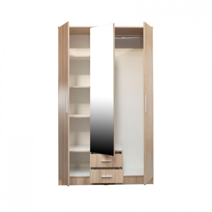 Set Dormitor Complet Ofelia II cu comoda - Dulap 3 usi -  ExpoMob [3]