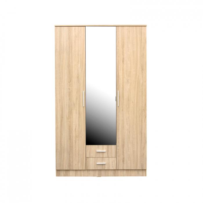 Set Dormitor Complet Ofelia II fara comoda - Dulap 3 usi -  ExpoMob 2