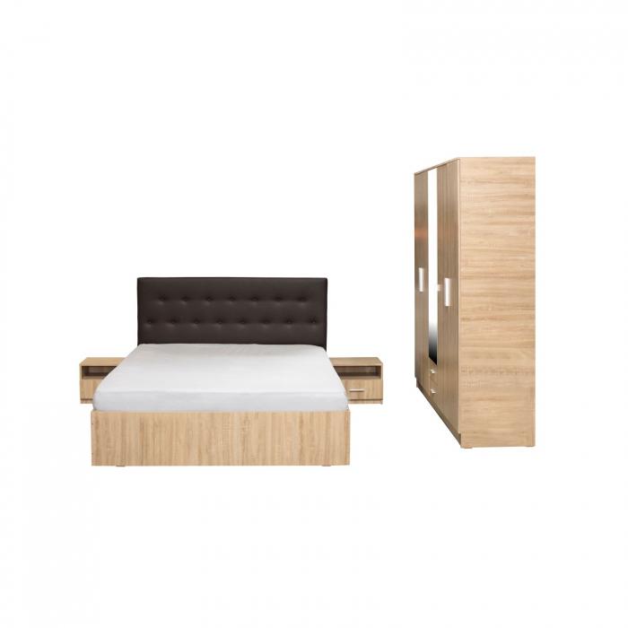 Set Dormitor Complet Ofelia II fara comoda - Dulap 5 usi -  ExpoMob 1