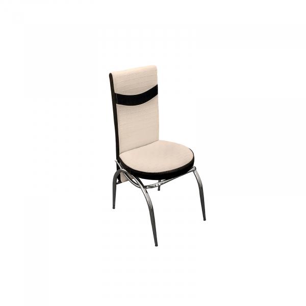 Set masa cu blat de sticla extensibila Lara cu 6 scaune - ExpoMob 2