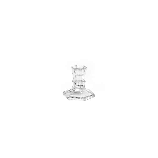 Sfesnic lumanare din cristal BOHEME, 7,5x7,5 cm, inaltime 8 cm - ExpoMob [0]