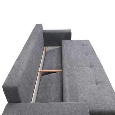 Canapea AZURRO 3L, extensibila, relaxa, cu lada depozitare3