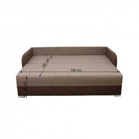 Canapea MARINA, extensibila, relaxa, cu lada depozitare4