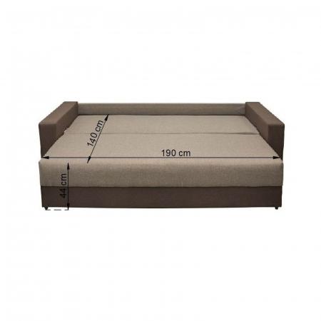 Canapea NICO 3L LUX, extensibila, relaxa, cu lada depozitare4