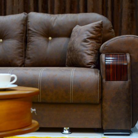 Canapea ORBAY, extensibila, relaxa, cu lada depozitare8