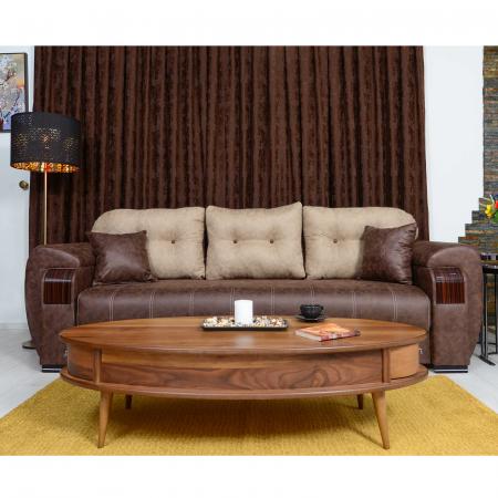 Canapea ORBAY, extensibila, relaxa, cu lada depozitare4